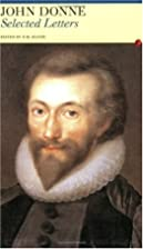 Selected Letters: John Donne (Anglican…