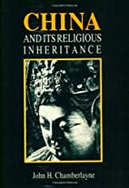 China and its Religious Inheritance by John…