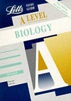 A Level Study Guide: Biology by Glenn Toole
