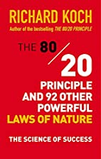 The 80/20 Principle and 92 Other Powerful…
