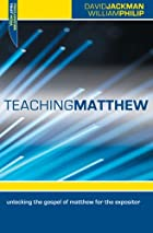 Teaching Matthew: Unlocking the Gospel of…