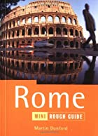 The Mini Rough Guide to Rome by Martin…
