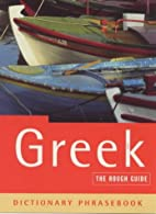 The Rough Guide to Greek by Lexus