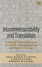 Incommensurability and translation : Kuhnian…