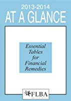 At A Glance 2013-14: Essential Tables for…