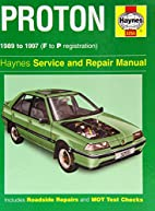 Proton (Haynes Service and Repair Manual…