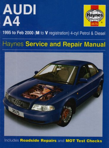 audi-a4-4-cylinder-service-and-repair-manual-haynes-service-and-repair-manuals