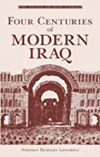 Four centuries of modern Iraq by Stephen…