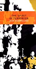 The Spirit of Terrorism: And Requiem for the…