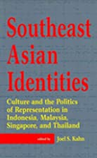Southeast Asian identities -- Culture and…