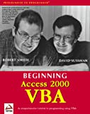 Smith, Robert: Beginning Access 2000 Vba
