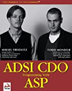 ADSI CDO Programming with ASP by Mikael…