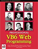 Wilton, Paul: Professional Visual Basic 6 Web Programming
