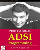 Professional ADSI Programming- Active…