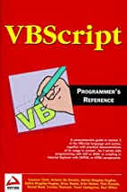 VBScript: Programmer's Reference by Adrian…