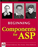 Robinson, Simon: Beginning Components for Asp