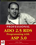 Professional ADO 2.5 RDS Programming with…