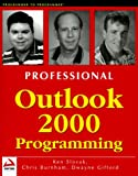 Dwayne Gifford: Professional Outlook 2000 Programming: With VBA, Office and CDO