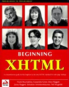 Beginning XHTML by Dave Raggett