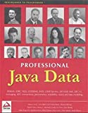 Bell, John: Professional Java Data