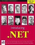 Introducing .NET by James Conard