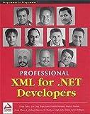 Dinar Dalvi: Professional XML for .NET Developers