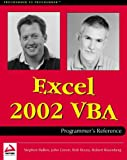 Bovey, Rob: Excel 2002 VBA Programmers Reference