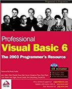 Professional Visual Basic 6: A Programmers…