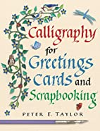 Calligraphy for Greeting Cards and…