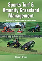 Sports Turf and Amenity Grassland Management…