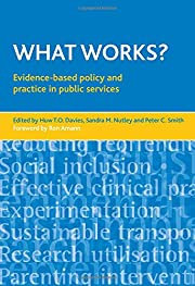 What Works?: Evidence-based Policy and…