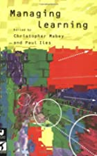 Managing Learning by Christopher Mabey
