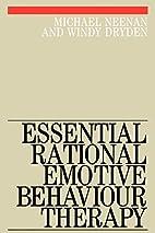 Essential Rational Emotive Behaviour Therapy…