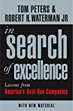 Peters, Thomas J.: In Search of Excellence : Lessons from America&#39;s Best-Run Companies