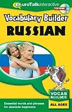 Vocabulary Builder Russian: Language fun for…