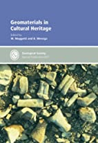 Geomaterials In Cultural Heritage…