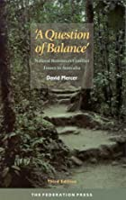 A question of balance: Natural resources…