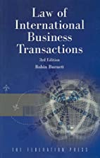Law of International Business Transactions…