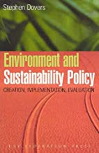 Environment and Sustainability Policy:…