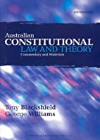 Australian constitutional law and theory:…