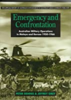 Emergency and confrontation : Australian…