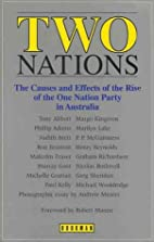 Two Nations: The Causes and Effects of the…