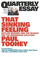 Quarterly Essay 53: That Sinking Feeling by…