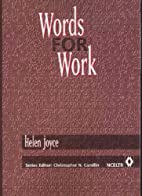 Words for work : a vocabulary workbook for…