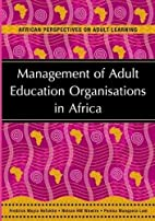 Management of Adult Education Organisations…