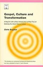 Gospel, Culture and Transformation (Regnum…