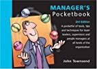 The Manager's Pocketbook by John Townsend