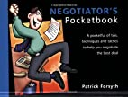 The Negotiator's Pocketbook by Patrick…