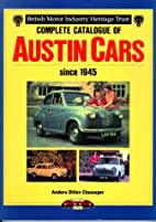 Complete Catalogue of Austin Cars from 1945…
