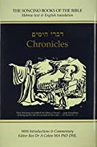 Chronicles, The Soncino Books of the Bible…